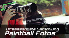 Link zur Paintball Gallery mit Paintballfotos von 1999