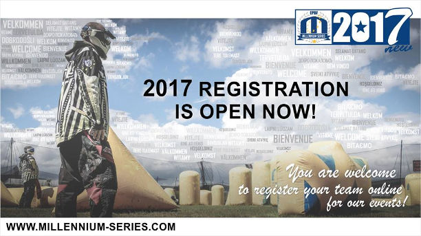 Millennium Series 2017 registration open
