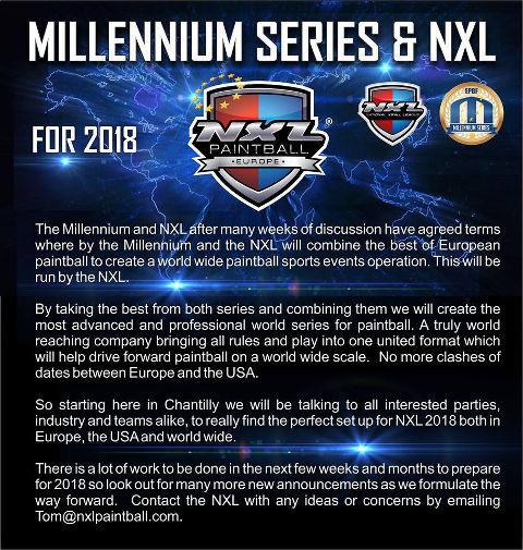 NXL & Millennium Series 2018